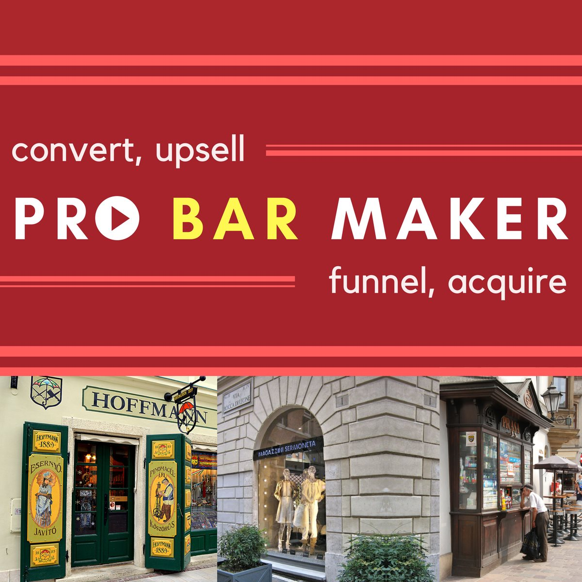 Pro Bar Maker - Shopify App